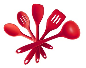 Heat Resistant Kitchen Utensils, Silicone kitchen utensil, Dishwasher Safe Silicone Kitchen Utensil Set