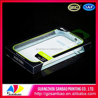 Fashion Cell Phone Case Plastic Packaging Box