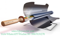 2016 hot sale new portable and foldable vacuum thermal tube solar cooker