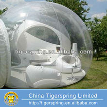 outdoor camping inflatable clear transparent bubble tent