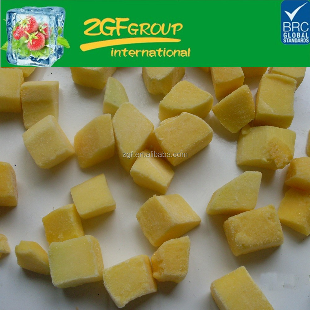 Hot Sale IQF diced mango importers uae frozen fruits