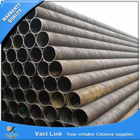 custom-produced tensile strength stel erw pipe and tube made in China