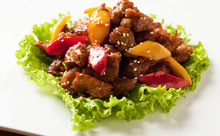 Vege sweet & sour pork vegetarian mock meat soy bean protein products