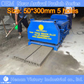 Concrete Clay fly ash and concrete cement fencing pole making machine