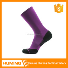 Hot hand linking elite basketball socks polyester