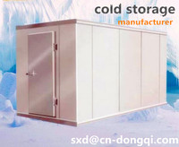 cold room for storing fish
