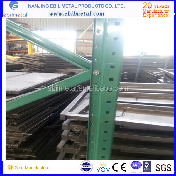 Material steel hot selling pallet racking,Warehouse equipment accessories/USA teardrop style pallet racking