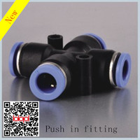 Push in fitting/tube connector/Pneumatic fitting(PZA)