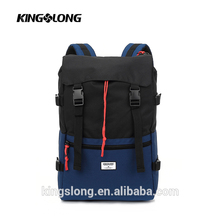 KINGSLONG laptop roller bag roll up travel bag roll top backpack