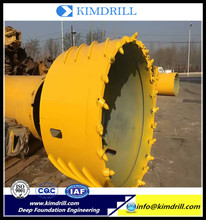 Professional drilling bucket core barrel for piling industry With Good Service