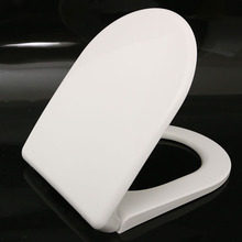 Soft Close Modern Flat Toilet Seat