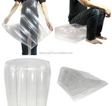 Transparent Inflatable Maggic Triangle Sex Pillow/Wadge inflatable travel pillow backrest