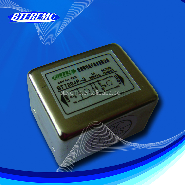 EMC RF PCB Mounting emi power line filter