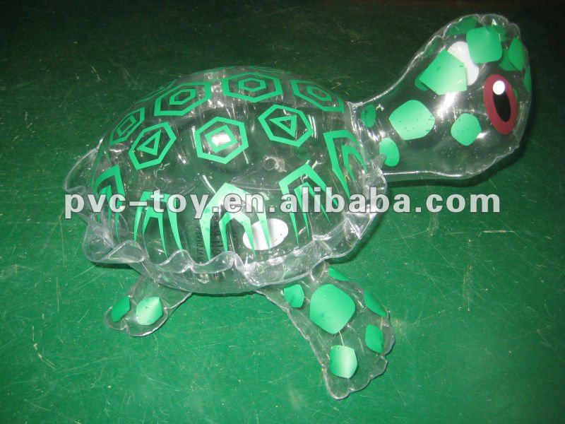 inflatable la tortue plastic toys for kids