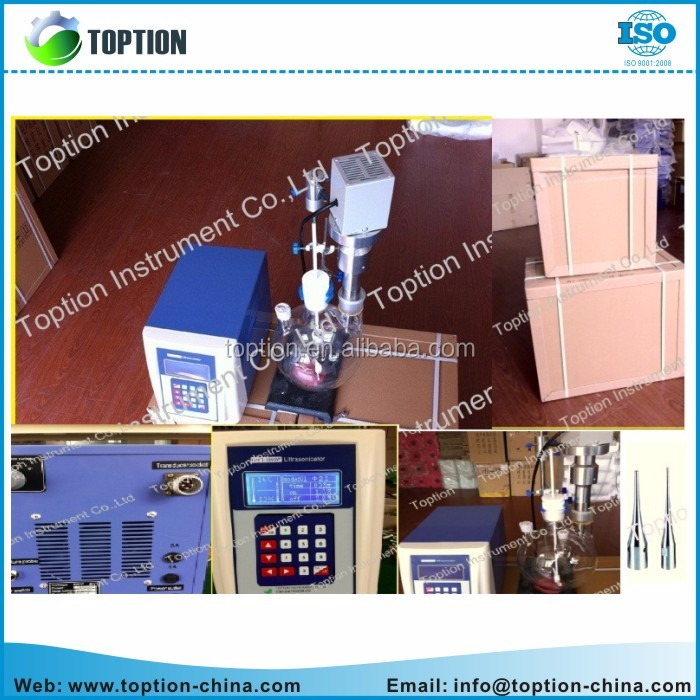 laboratory electric Ultrasonic Homogenizer TOPT-500