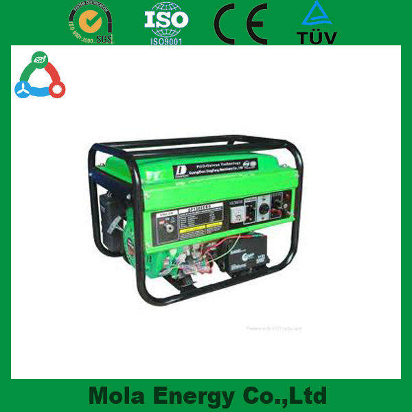 High efficiency air-cooled AC single phase diesel 2.2kva generator