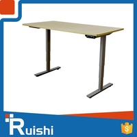 cheap wholesale office furniture electric sit to stand at work executive office desk