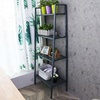 Sofa Side Furniture Metal 4 Tier Ladder Shelf Book Shelf Decorative Shelf