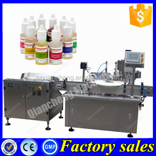 Trade assurance bottle washing filling and capping machine,eye drop filling