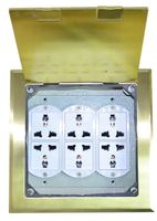 CE Certification Conference Systerm Using Pop-Up Zink Ally Raised Electrical Outlets Floor Socket Box