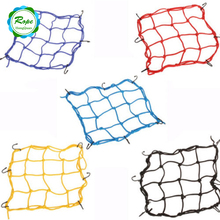 Heavy-Duty Universal Flexible Elastic Luggage Mesh Cargo Nets for Sale with Plastic Hooks