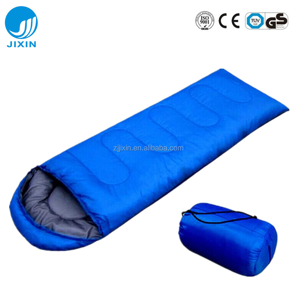 2017 New envelope sleeping bag with hood stylish sleeping