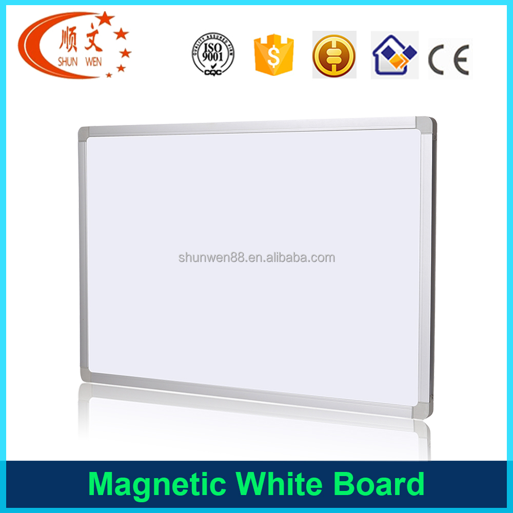 Dry erase Child board student magnetic white board aluminum frame acrylic coating white board
