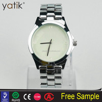 Men's Luxury brand watch Gold Stainless Steel Band classic watch 3 Pointers western wrist watches