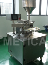 12 heads cream tube filling and sealing machine