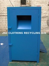 2017 Original factory water-proof Metal clothing bin for used clothes01