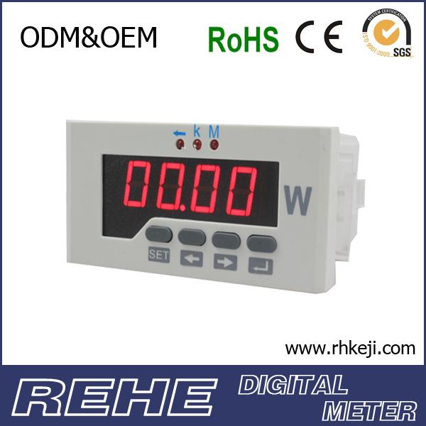 Three Phase digital phase active low price power meter RS485