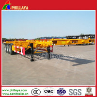 terminal/port trailer with gooseneck /container transportation trailer/general trailer