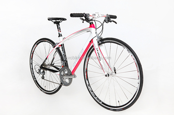 2015carbon fiber new road bike pink style