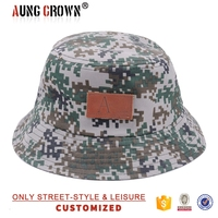 100% cotton cheap camoflage bucket hat
