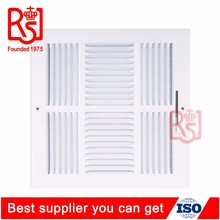 Hot sale 4 Way Ceiling Air Diffuser Air Conditioning Sidewall Vent Register