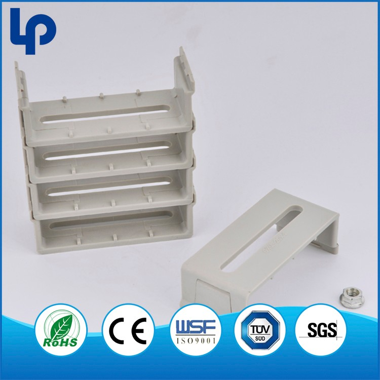 Lepin low price Telecom Network ABS wire mount , electric cable hanger