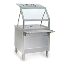 Stainless Steel Food Warmer Bain Marie with Cabinet (CT-0777)