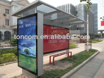 THC-36 stainless steel bus stop station