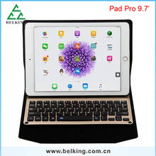 New Arrival For iPad Pro Leather Stand Case Bluetooth Keyboard leather Case For iPad Pro