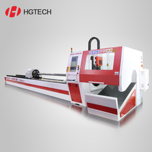 Price 1000W Stainless steel silver metal tube pipe CNC fiber laser cutting machine
