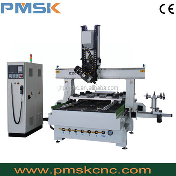 cnc pipe bending machines prices/4 axis Woodworking CNC Router Wood PMSK 1325