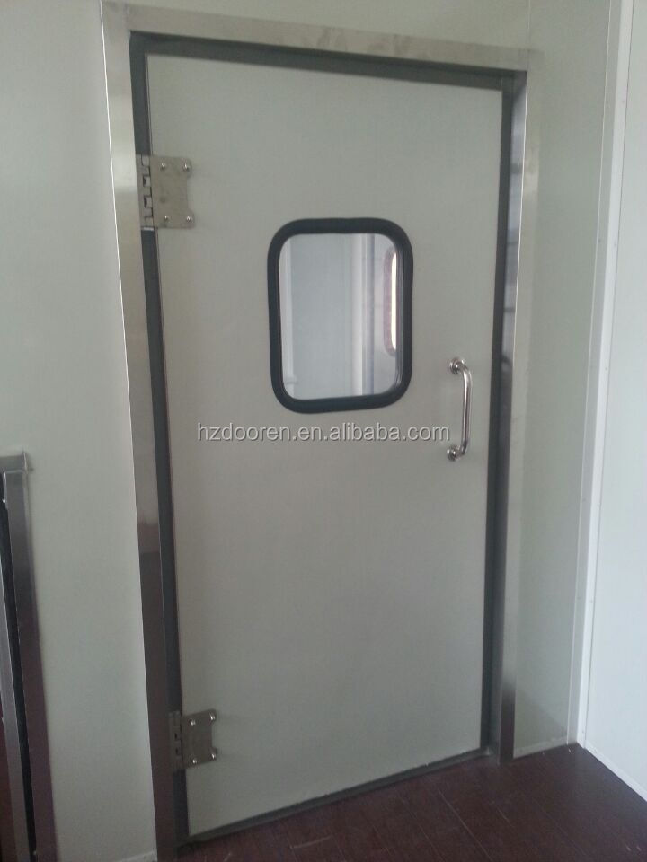 Free Door for Cold Room, Storage Room Free Door, Metal Free Door Wilth Stainless Steel