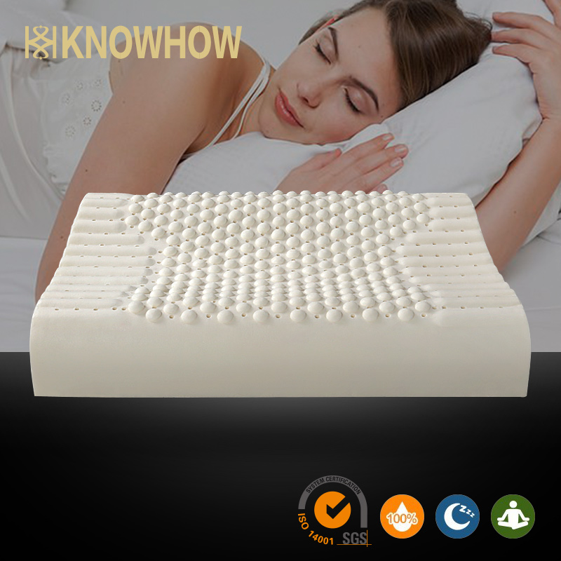 Elegant Alibaba sofa partner Tempur pillow latex particle massage pillow