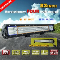 Auto Accessories Light Bars 900w Combo 4 row Led Truck Lights