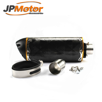 JPMotor carbon fiber motorcycle exhaust for 1000cc big bikes