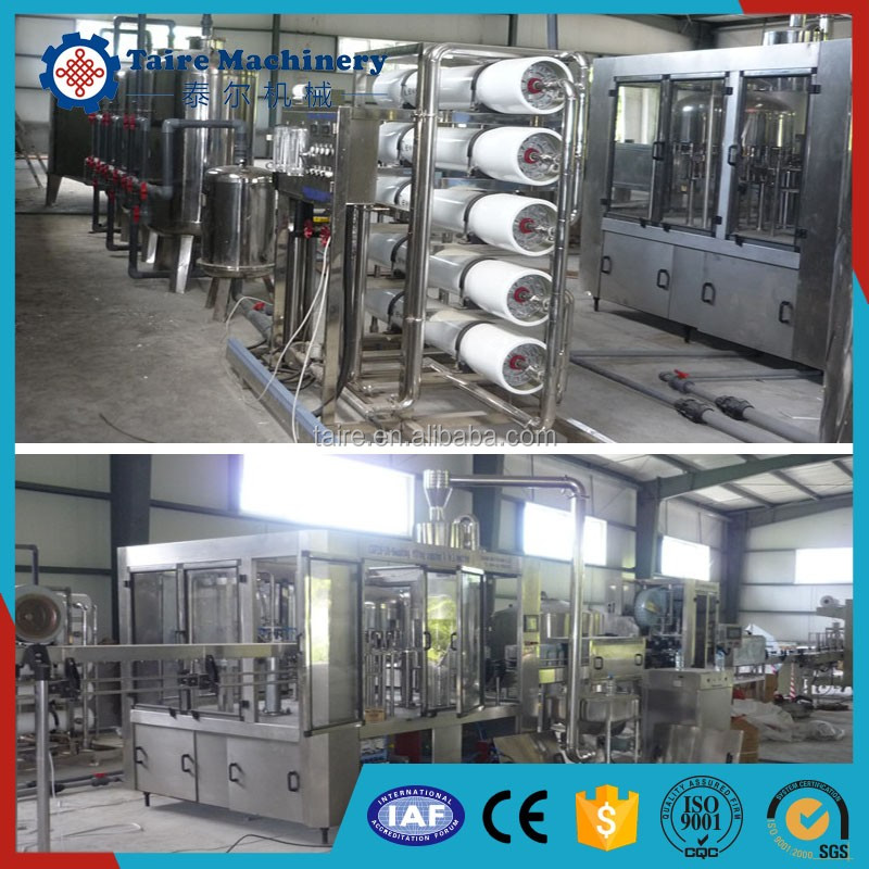 Eight-head scale automatic stainless steel 5 gallon mineral water filling machine
