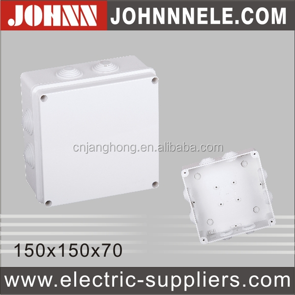 ABS Material Good Insulation 255*200*80 White Outdoor Junction Box
