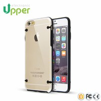 2016 Best quality Ultra slim transparent case crystal hard pc cover mobile phone shell case for iphone 6 6s 6 plus 6s plus