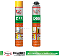 500ml spray pu foam sealants adhesive