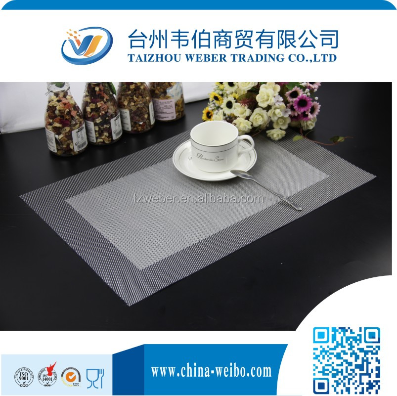 PVC Rattan Table Placemat